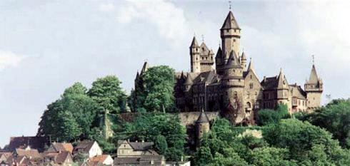 Schloss Braunfels bei Wetzlar