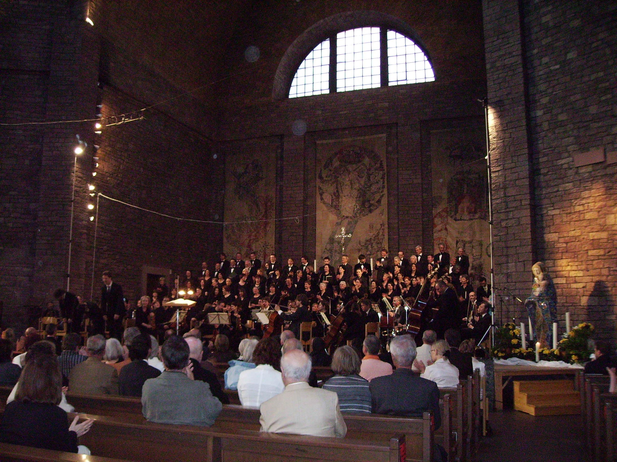 Chor nach der Aufführung von Haydns Schöpfung