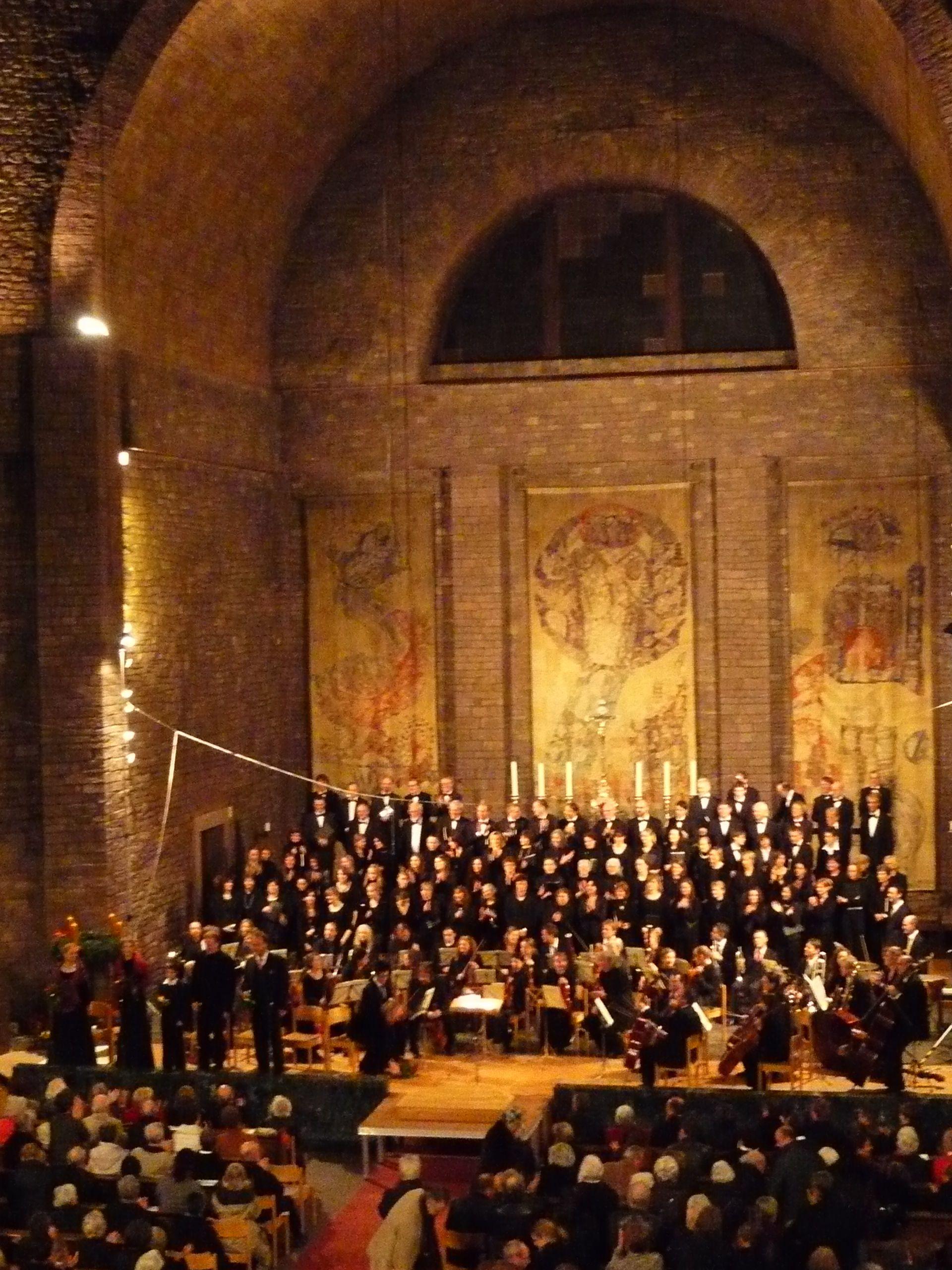 ChorStStephanundKammerphilkharmonieKarlsruhenachdemKonzertam291109